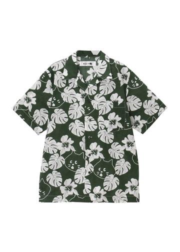 にゃーアロハシャツ