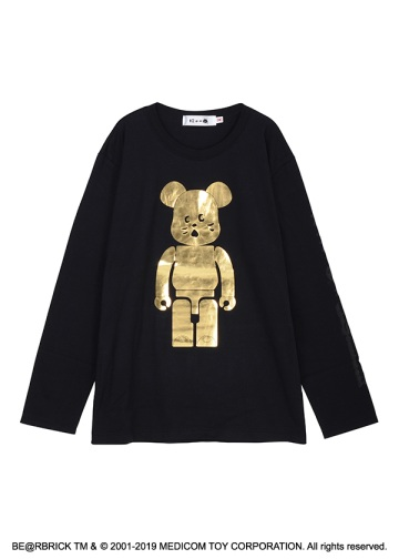 にゃー × BE@RBRICK GOLD T