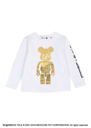 キッズ にゃー × BE@RBRICK GOLD T