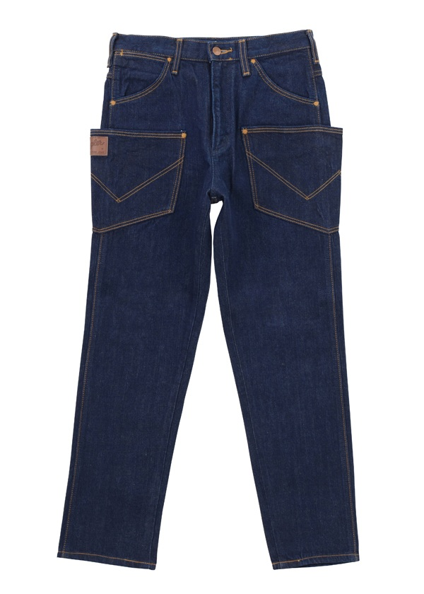 Wrangler DENIM PANTS ネイビー