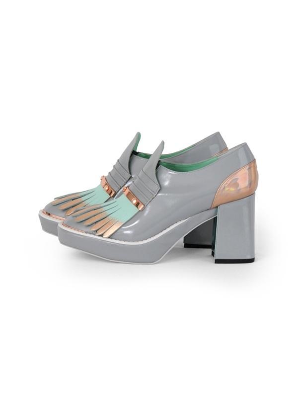 TSUMORI CHISATO / ペインタータッセル / パンプス グレー【ファッション・アパレル 靴レディースパンプス】【TSUMORI CHISATO(ツモリチサト)】/TC73AJ0162423.5