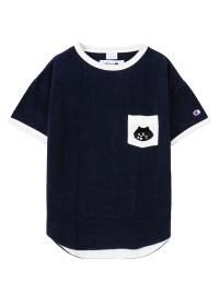 にゃーとチャンピオンのパイルTシャツ