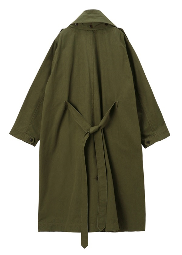 (O) Haoli military 2way coat