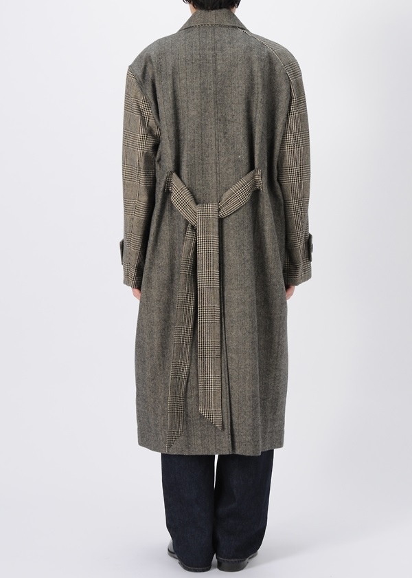 Asymmetry Sleeve Coat