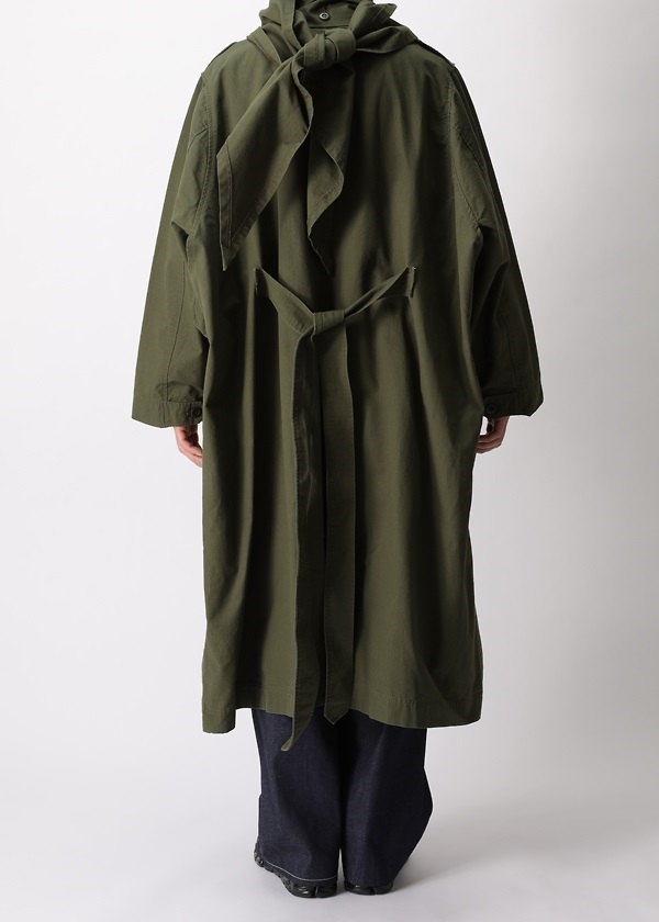 S Haoli military 2way coat
