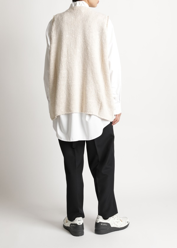 S Cotton Knit Vest