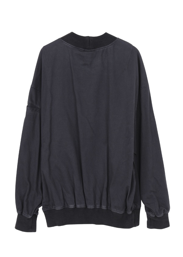 S military satin pull over