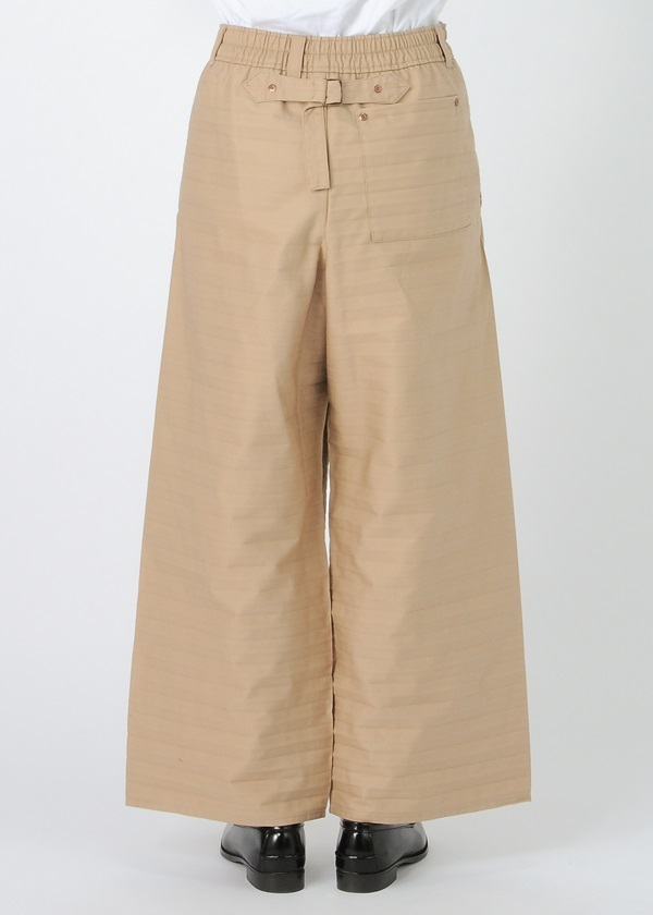 Chino Pleats Pants