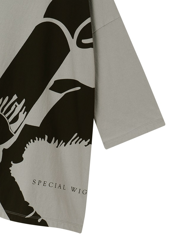 ZUCCa / S SPECIAL WIG T / Tシャツ