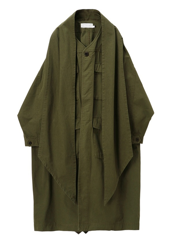 Haoli military 2way coat