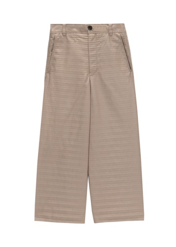 S Chino Pleats Pants