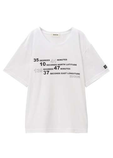 ZUCCa / North East T / Tシャツ