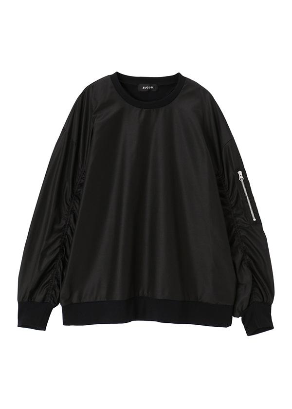 ZUCCa / メンズ カレンダークロス / シャツ 黒