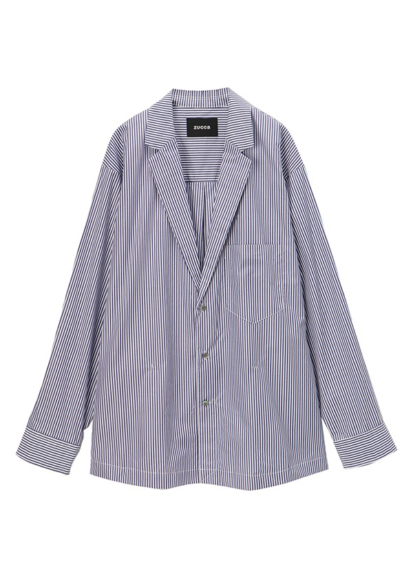 ZUCCa / メンズ シャツジャケット / シャツジャケット ブルー