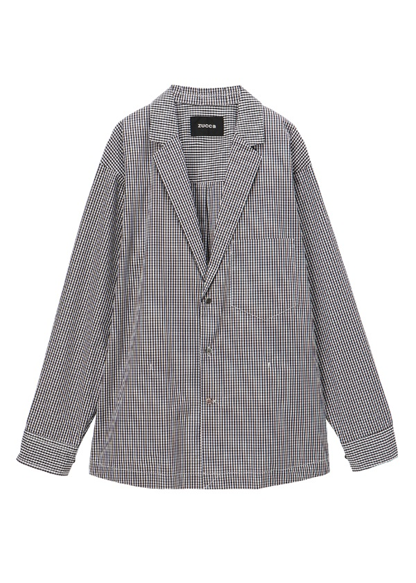 ZUCCa / メンズ シャツジャケット / シャツジャケット 黒