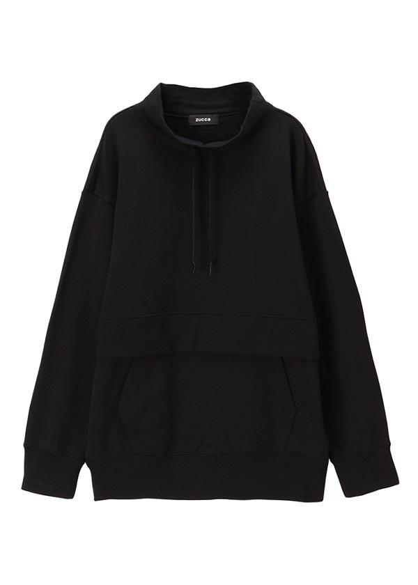 ZUCCa / メンズ コットン裏毛 / カットソー 黒
