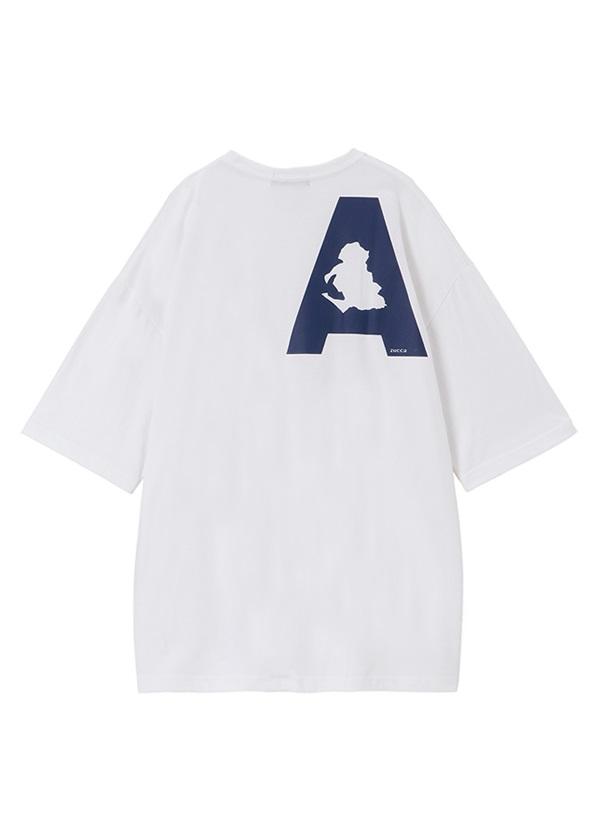 ZUCCa / メンズ PREFECTURES T-SHIRT 愛知 / Tシャツ 白
