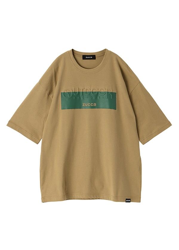 ZUCCa / メンズ OUTDOOR PRODUCTS × ZUCCa エンボスTシャツ / Tシャツ グリーン