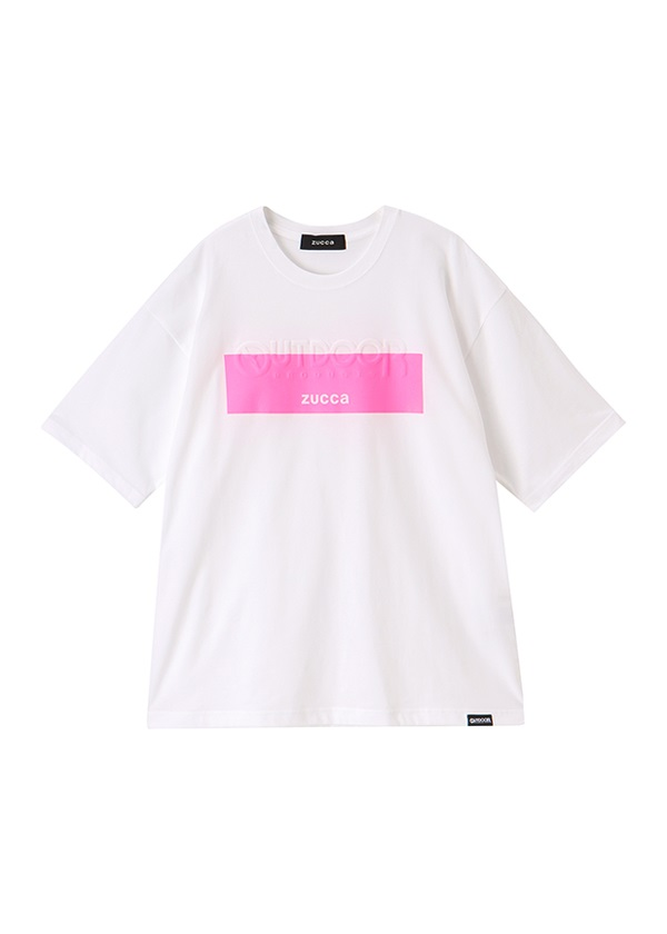 ZUCCa / メンズ OUTDOOR PRODUCTS × ZUCCa エンボスTシャツ / Tシャツ ピンク