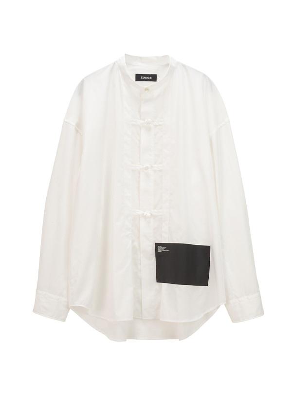 ZUCCa / BIGミルスペックシャツ / シャツ 白