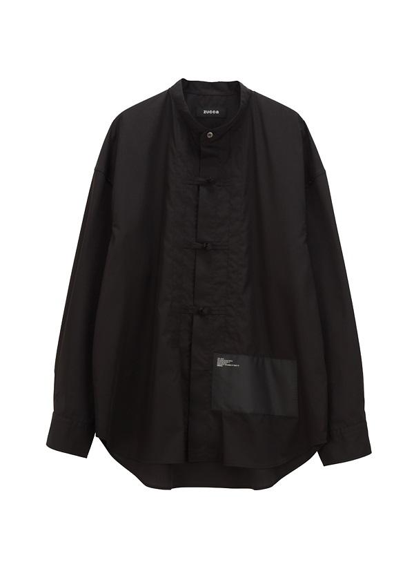 ZUCCa / BIGミルスペックシャツ / シャツ 黒