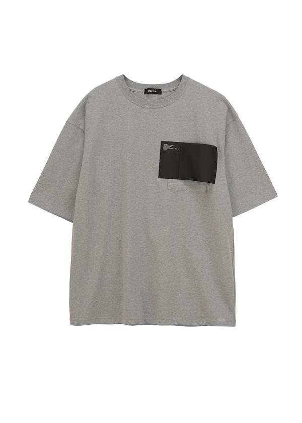 ZUCCa / メンズ BIGミルスペックT / Tシャツ シルバーグレー
