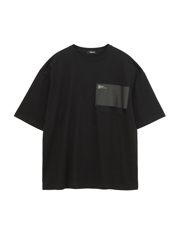 ZUCCa / メンズ BIGミルスペックT / Tシャツ 黒