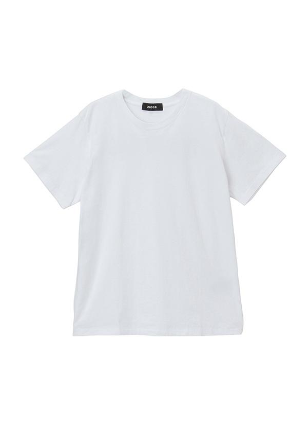 【SALE】ZUCCa / (O) メンズ ワッペンロゴTシャツ / カットソー 白