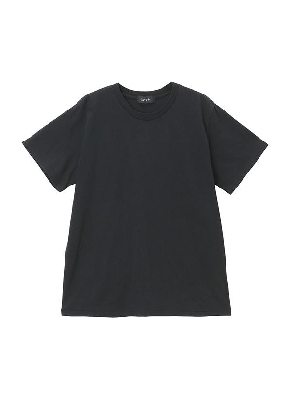 【SALE】ZUCCa / (O) メンズ ワッペンロゴTシャツ / カットソー 黒