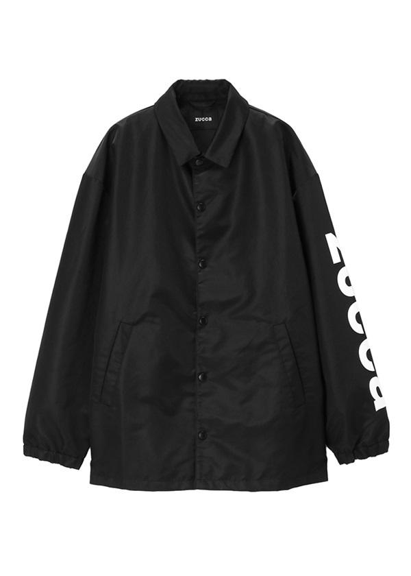 ZUCCa / メンズ コーチジャケット / ブルゾン 黒