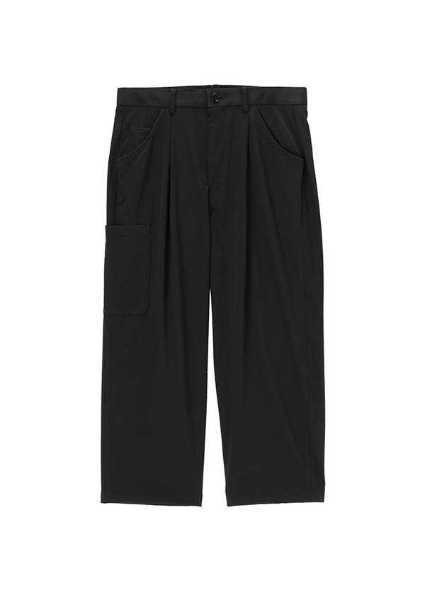 ZUCCa / メンズ ポリエステルチノ / パンツ 黒