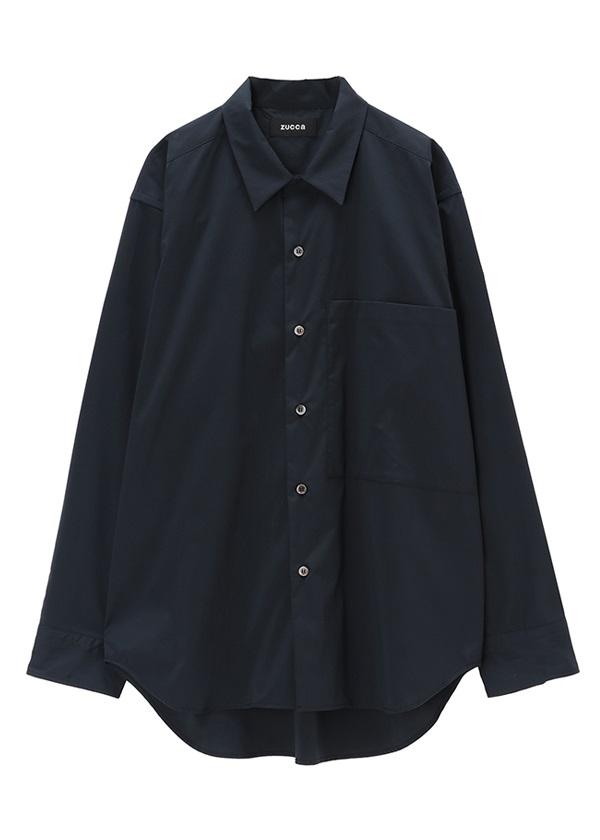 ZUCCa / メンズ PEカラーシャツ / シャツ ネイビー