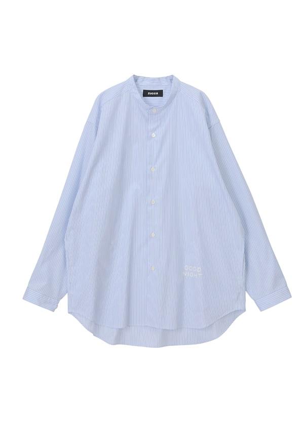 ZUCCa / メンズ ねむくなるパジャマ / シャツ ライトブルー