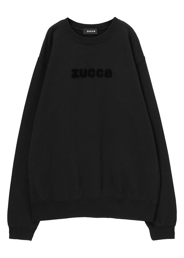 ZUCCa / メンズ C:ロゴ裏毛 / カットソー 黒