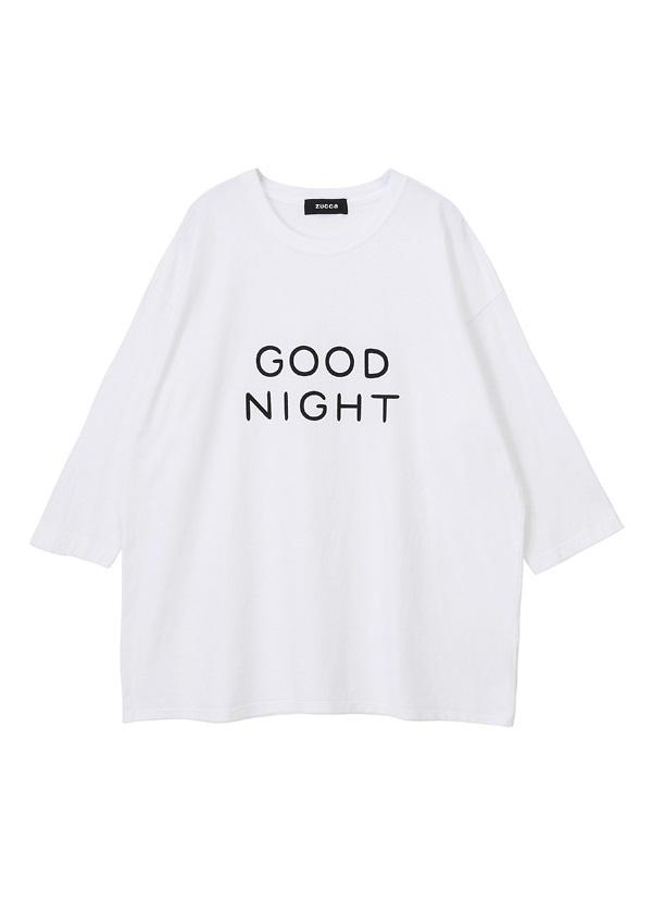 ZUCCa / メンズ ねむくなるTシャツ / Tシャツ 白