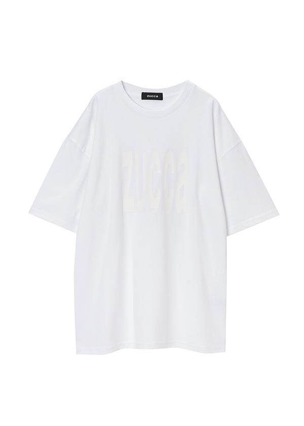 ZUCCa / メンズ LOGO Tシャツ / Tシャツ 白