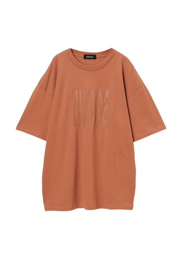 ZUCCa / メンズ LOGO Tシャツ / Tシャツ キャメル