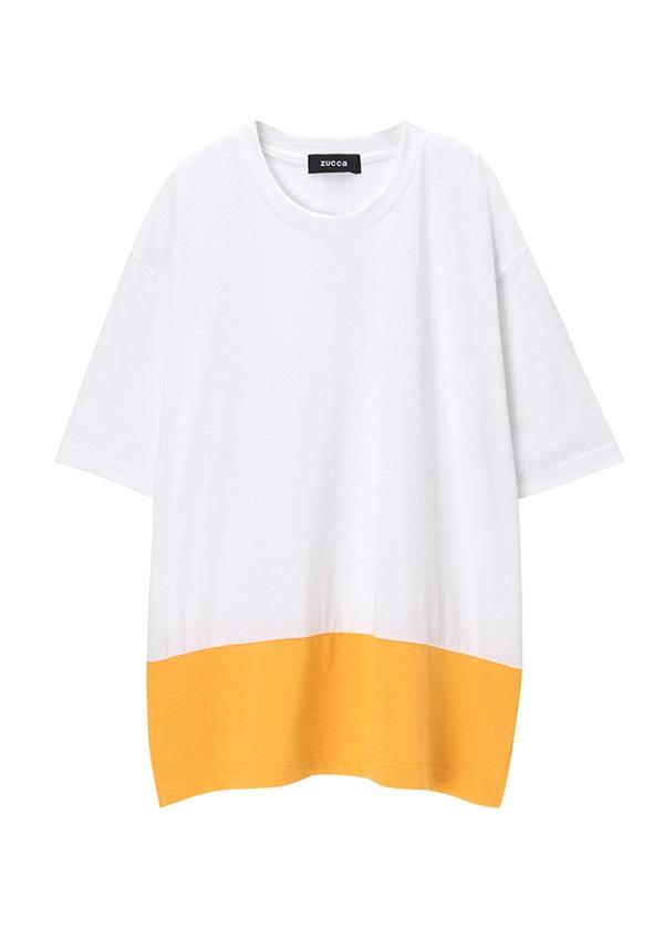 ZUCCa / メンズ (R)BLUE 30 / Tシャツ 白