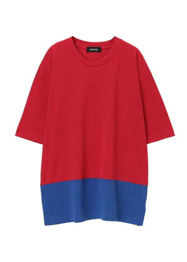 ZUCCa / メンズ (R)BLUE 30 / Tシャツ 朱赤