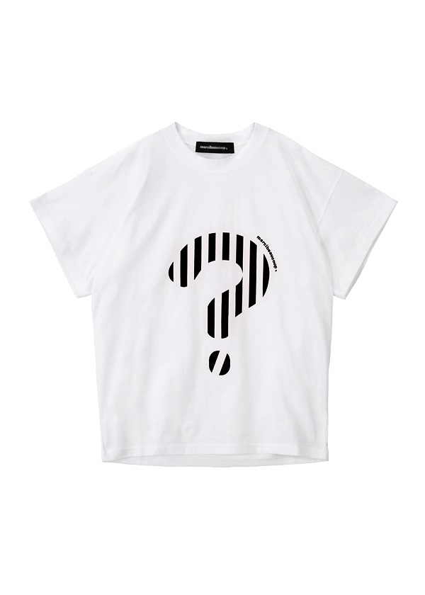 メルシーボークー、 / L:!?ティー / Tシャツ 白