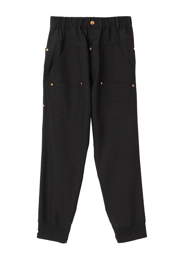 メルシーボークー、 / トロ / パンツ 黒