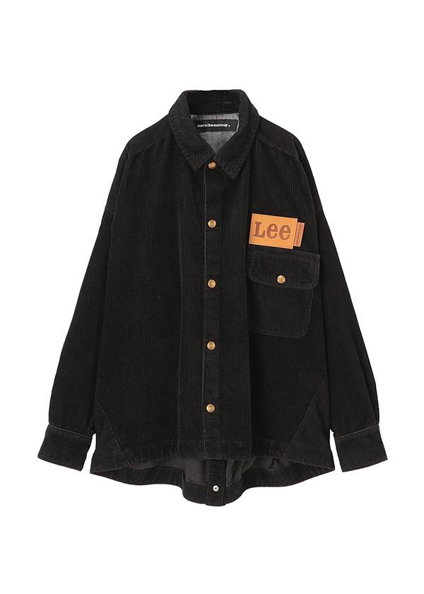メルシーボークー、 / Leeコラボ / シャツ 黒
