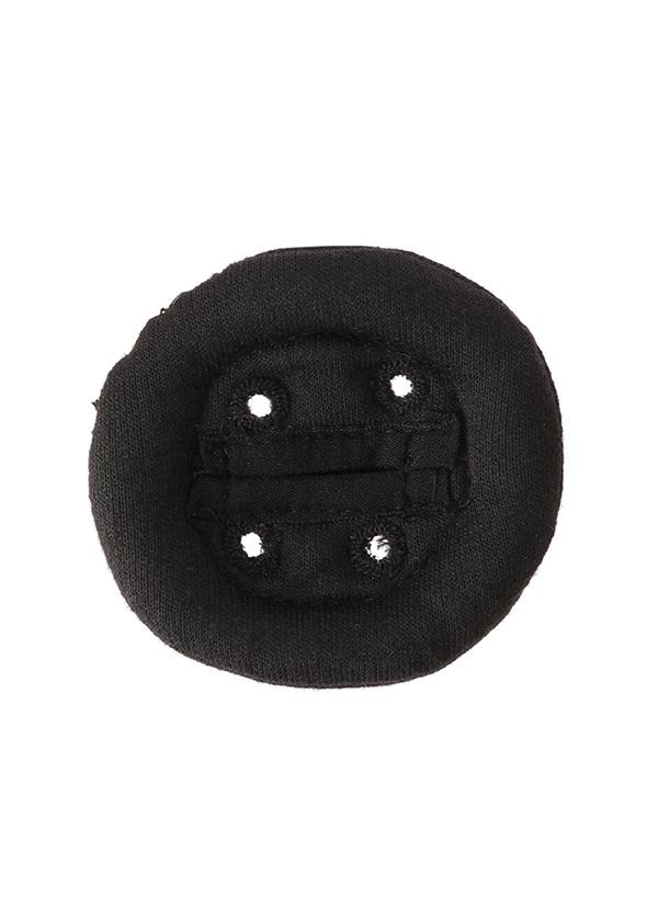 メルシーボークー、 / GF ボタンバッチ� / アクセサリー 黒
