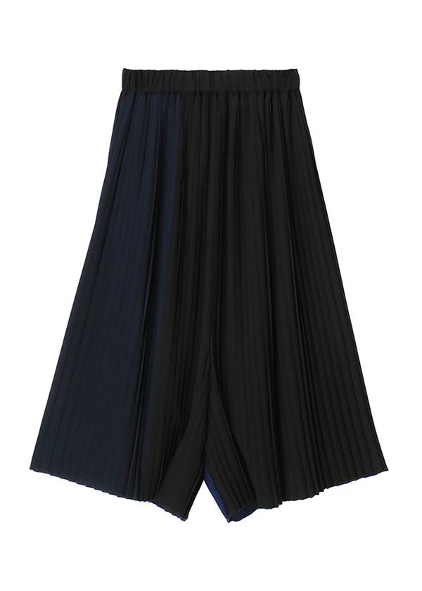 メルシーボークー、 / S:プリーツキュロット / パンツ 黒