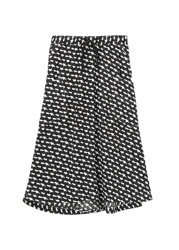 メルシーボークー、 / SOU・SOUコラボ / スカート 黒
