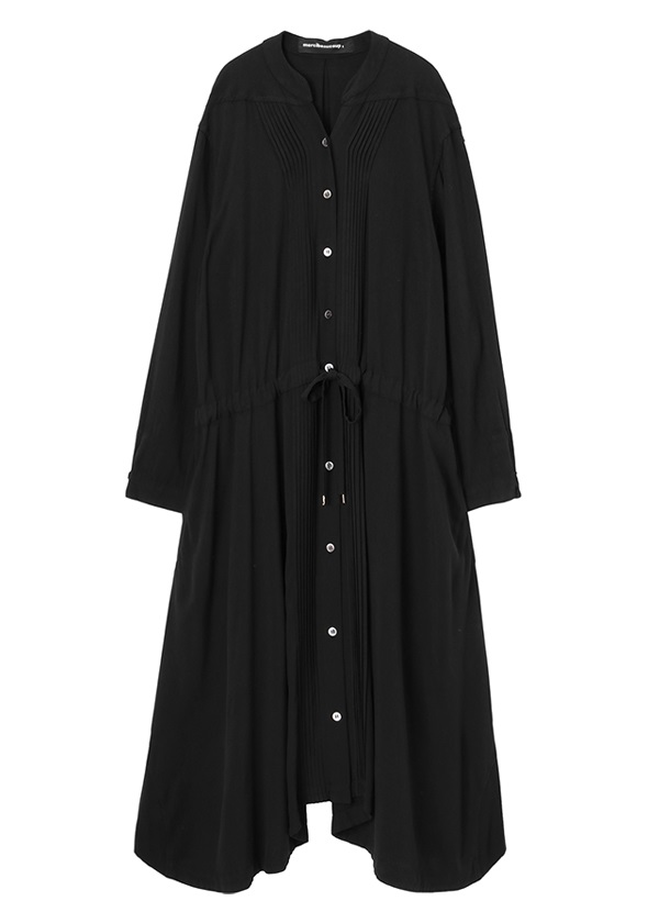 メルシーボークー、 / S : ムジシャツ / ワンピース 黒