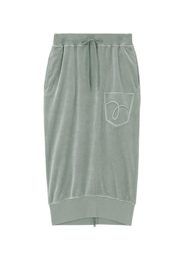 メルシーボークー、 / GF B:ポケベロおし / スカート シルバーグレー