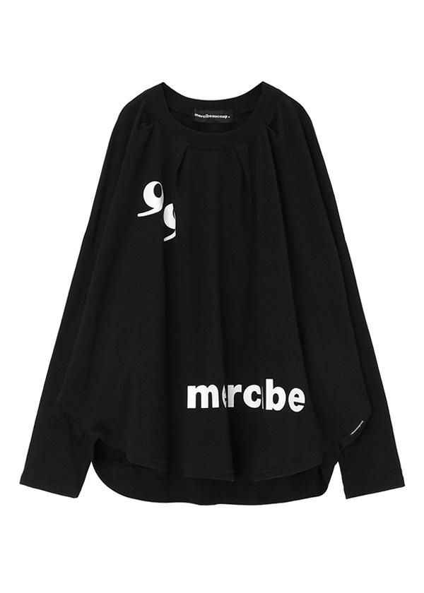 メルシーボークー、 / B:カンマちゃんソー / プルオーバー 黒