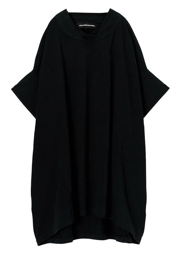 メルシーボークー、 / B:草木染メルティー / チュニック 黒