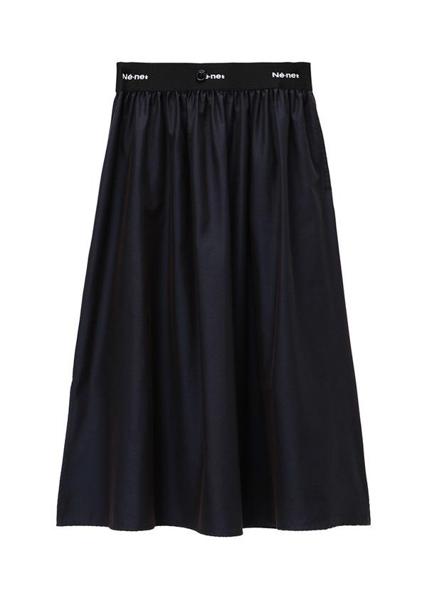 ネ・ネット / pickable pleats / スカート ネイビー
